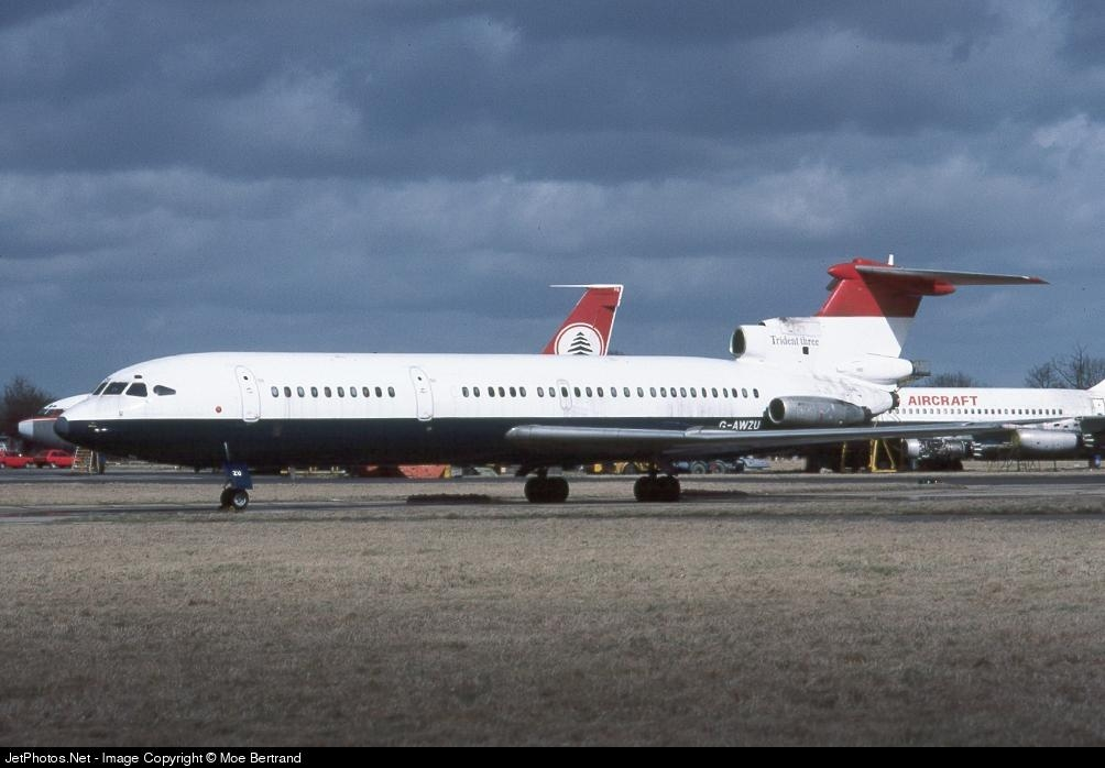 G-AWZU - Hawker Siddeley HS-121 Trident 3 - British Airways