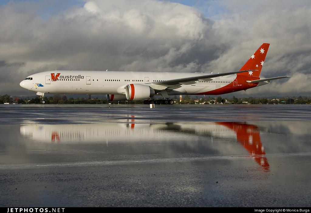 VH-VPF - Boeing 777-3ZGER - V Australia Airlines
