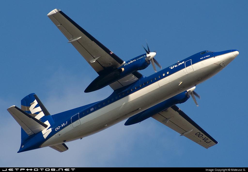 OO-VLJ - Fokker 50 - VLM Airlines