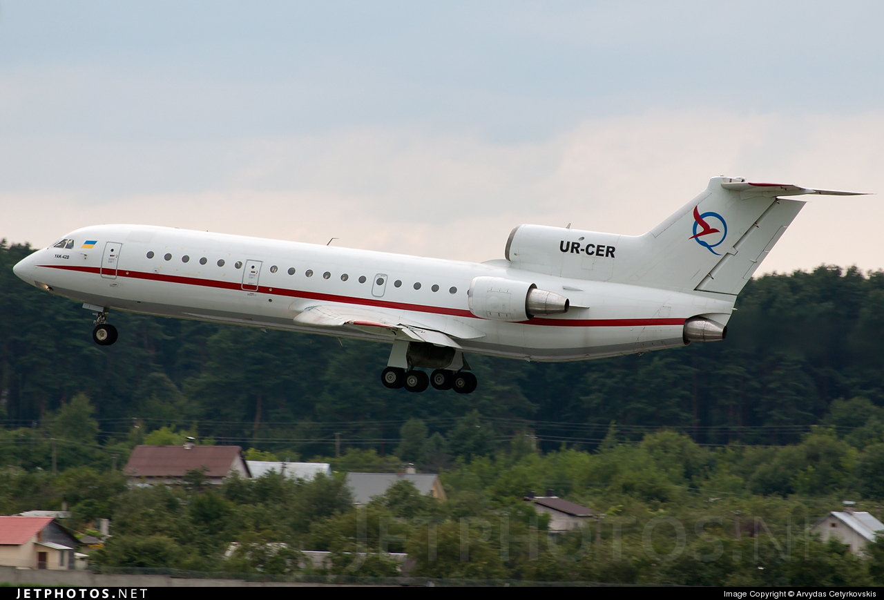 UR-CER - Yakovlev Yak-42D - South Airlines