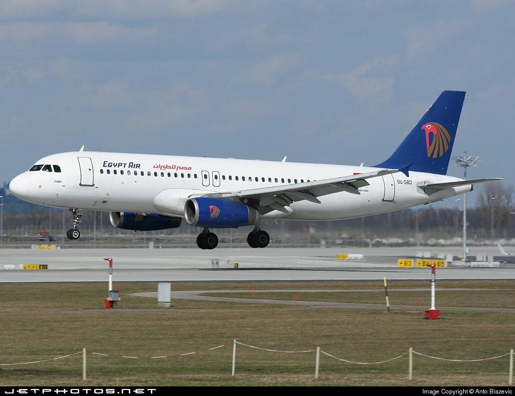 SU-GBD - Airbus A320-231 - EgyptAir