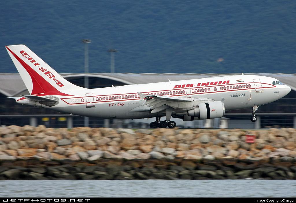 VT-AIO - Airbus A310-324 - Air India