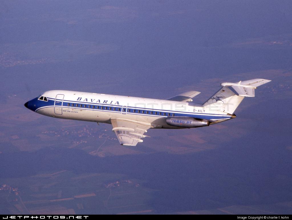 D-AILY - British Aircraft Corporation BAC 1-11 Series 414EG - Bavaria Fluggesellschaft