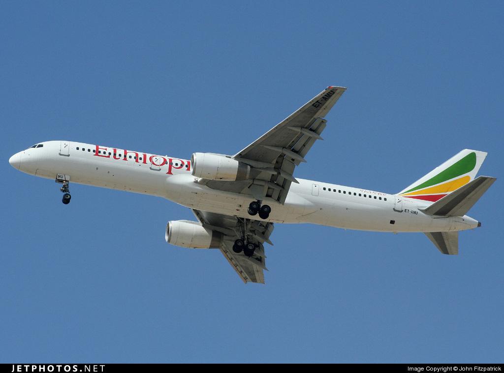 ET-AMU - Boeing 757-23N - Ethiopian Airlines