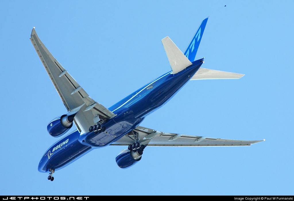 N5020K - Boeing 777-F28 - Boeing Company