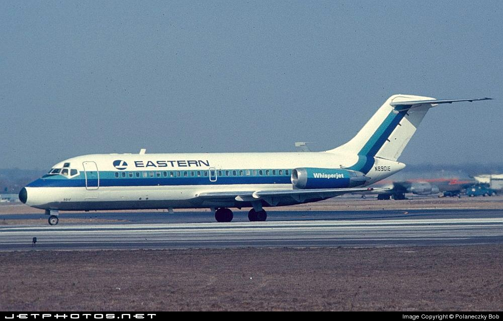 N8901E - McDonnell Douglas DC-9-14 - Eastern Air Lines