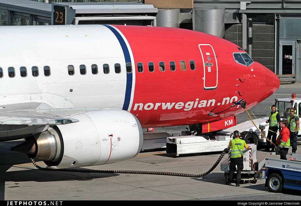 LN-KKM - Boeing 737-3Y0 - Norwegian