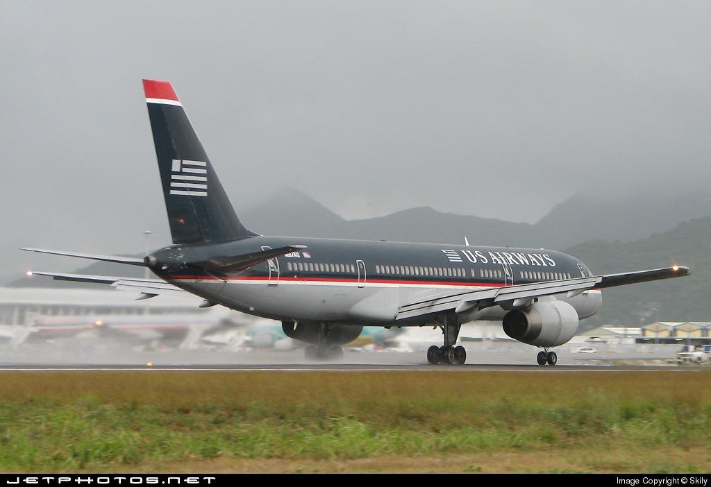 N617AU - Boeing 757-2B7 - US Airways