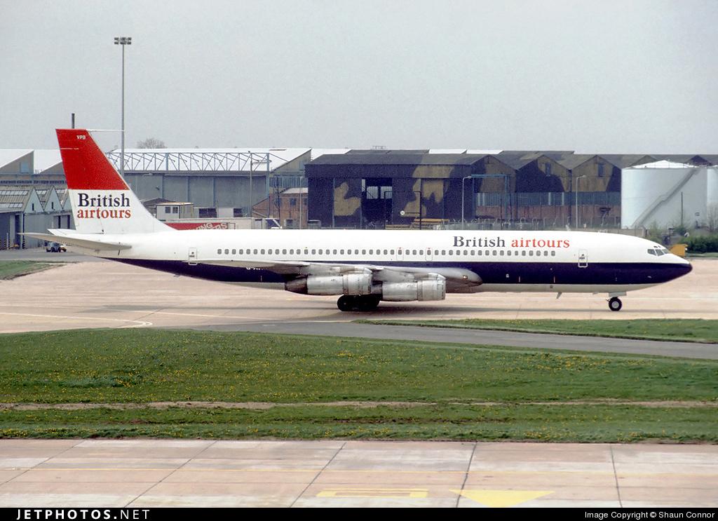 G-AVPB - Boeing 707-336C - British Airtours