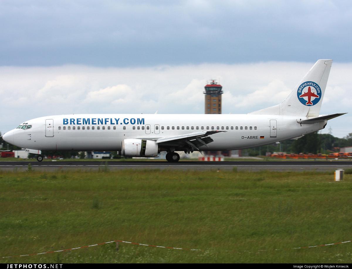 D-ABRE - Boeing 737-46J - Bremenfly
