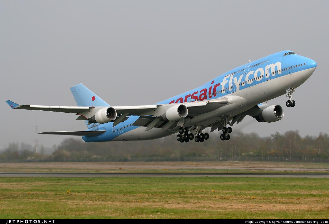 F-HLOV - Boeing 747-422 - Corsair