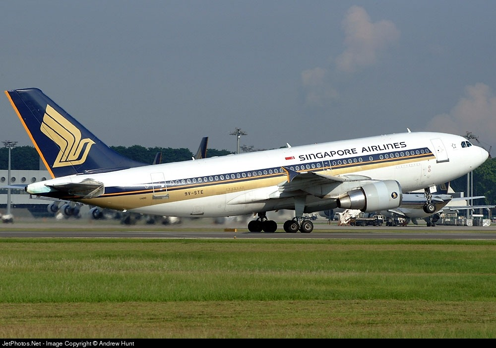 9V-STE - Airbus A310-324 - Singapore Airlines