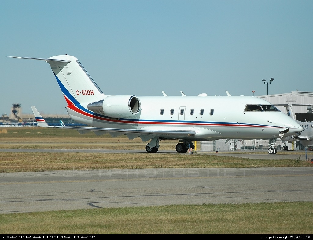 C-GIOH - Bombardier CL-600-2B16 Challenger 601-3A - Private