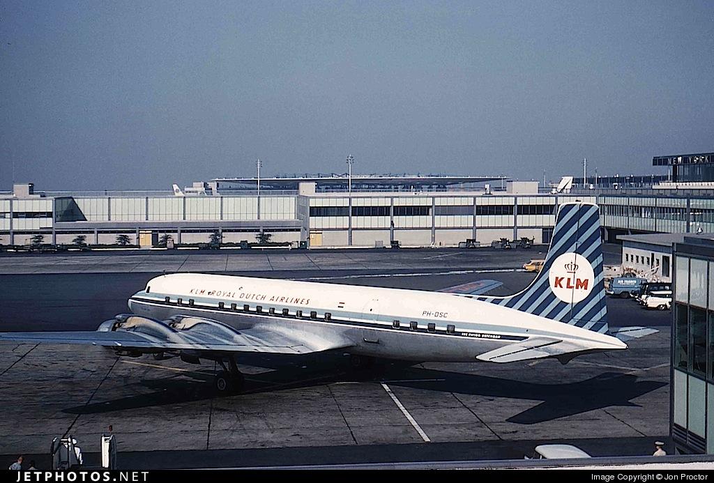 PH-DSC - Douglas DC-7C Seven Seas - KLM Royal Dutch Airlines
