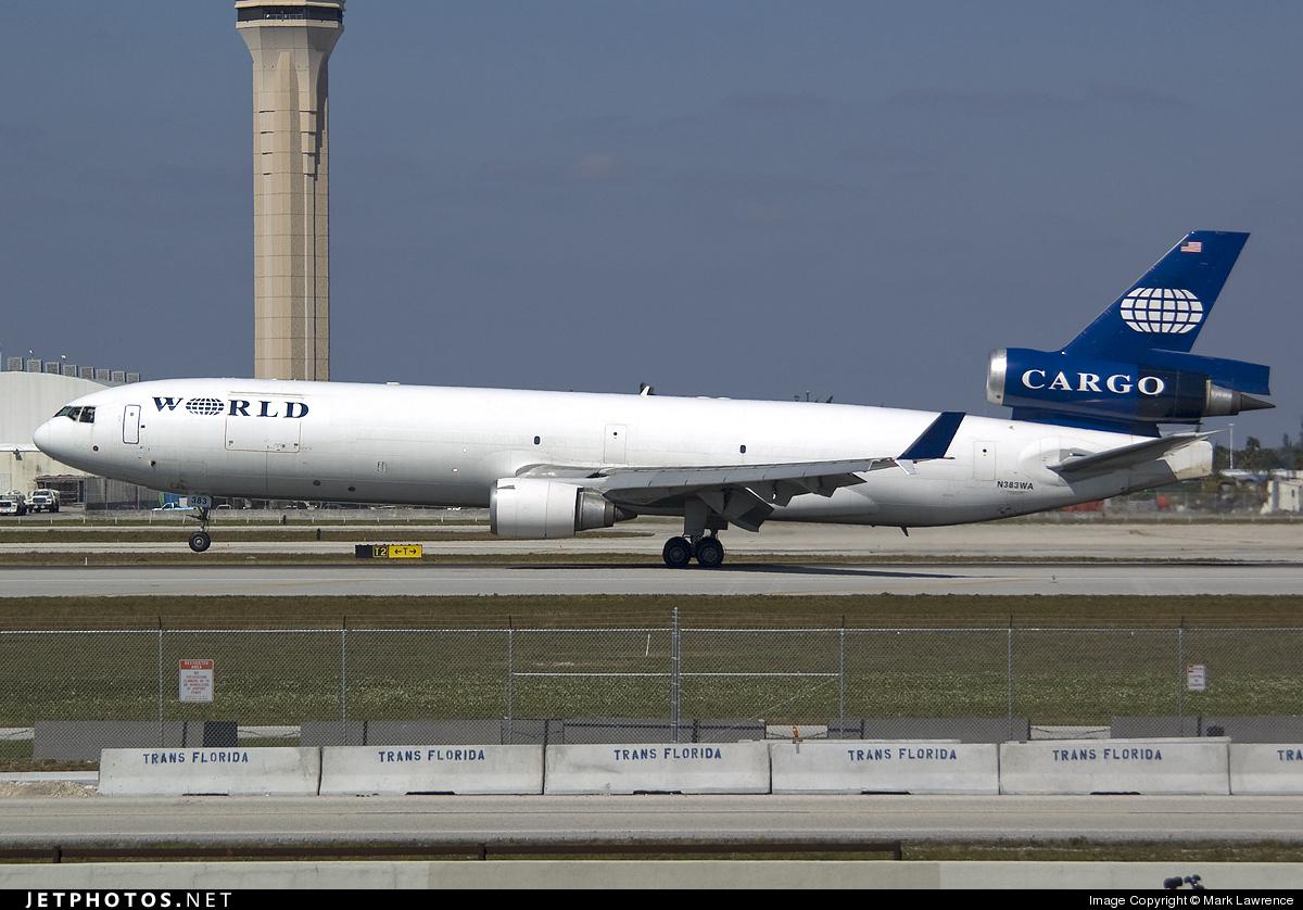 N383WA - McDonnell Douglas MD-11(F) - World Airways Cargo
