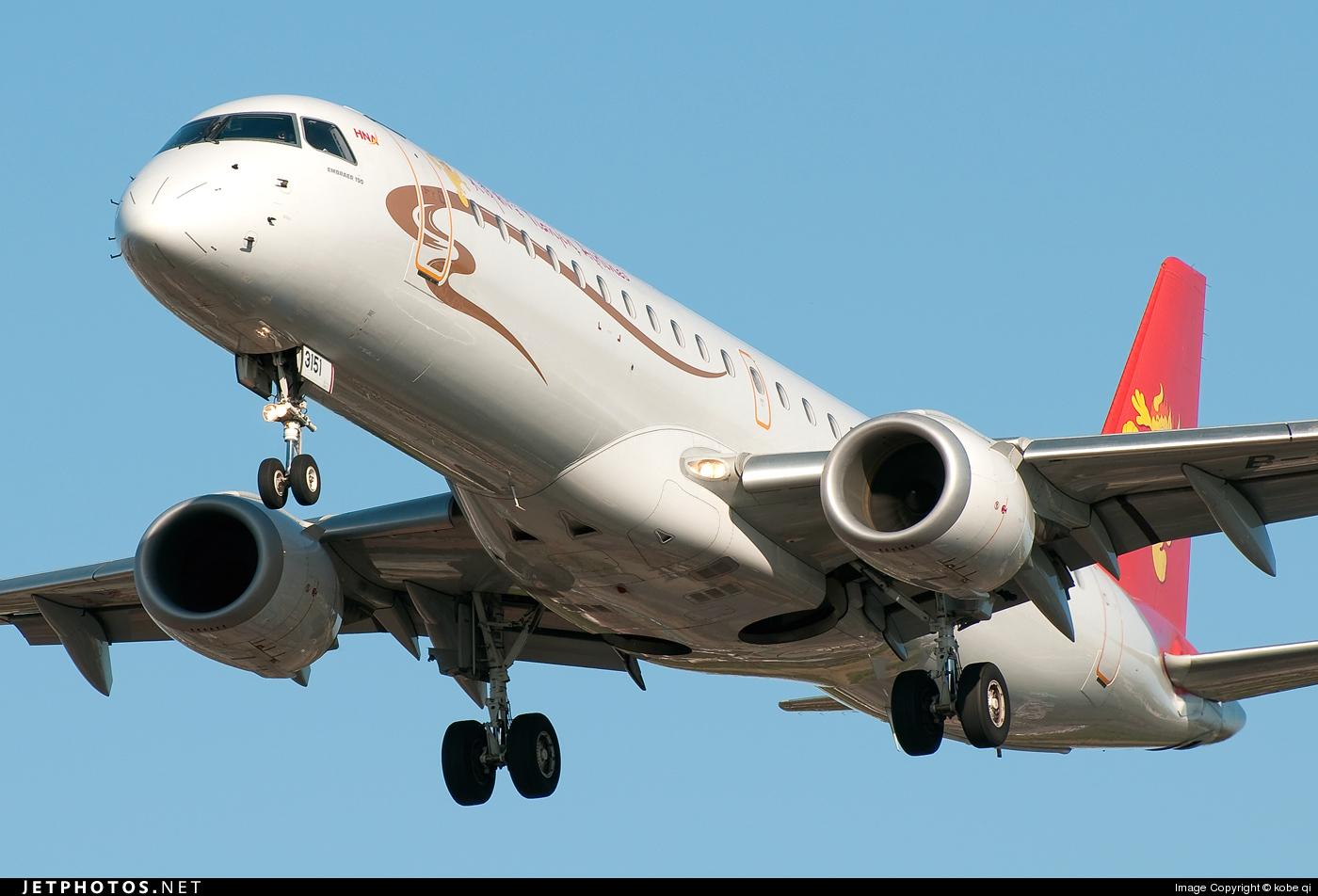 B-3151 - Embraer 190-100IGW - Grand China Express