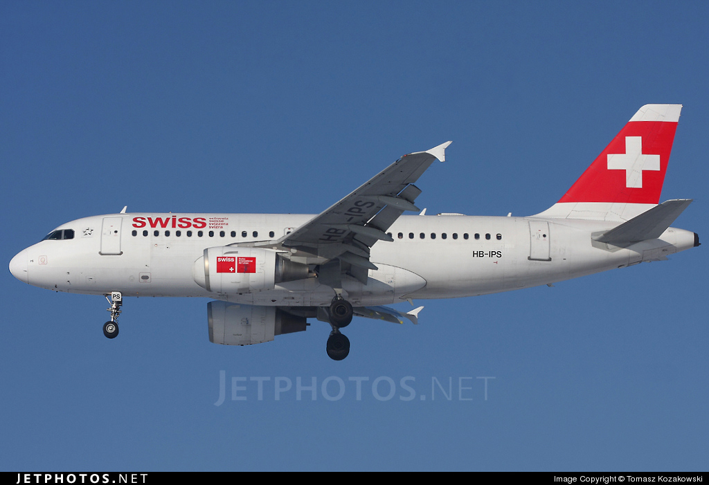HB-IPS - Airbus A319-112 - Swiss