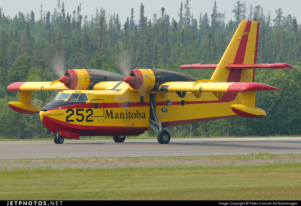 C-GYJB - Canadair CL-215 - Canada - Government of Manitoba