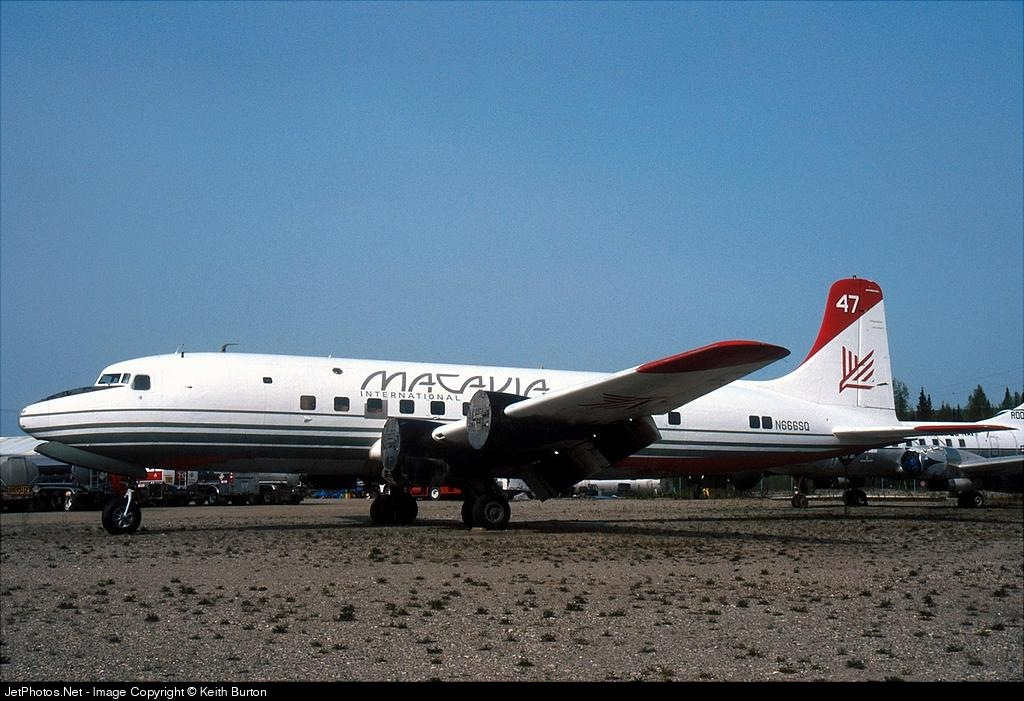 N666SQ - Douglas DC-6 - Everts Air Fuel