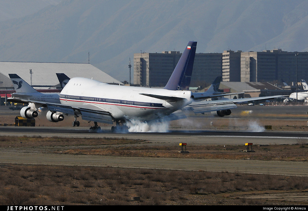 5-8108 - Boeing 747-132(SF) - Iran - Air Force