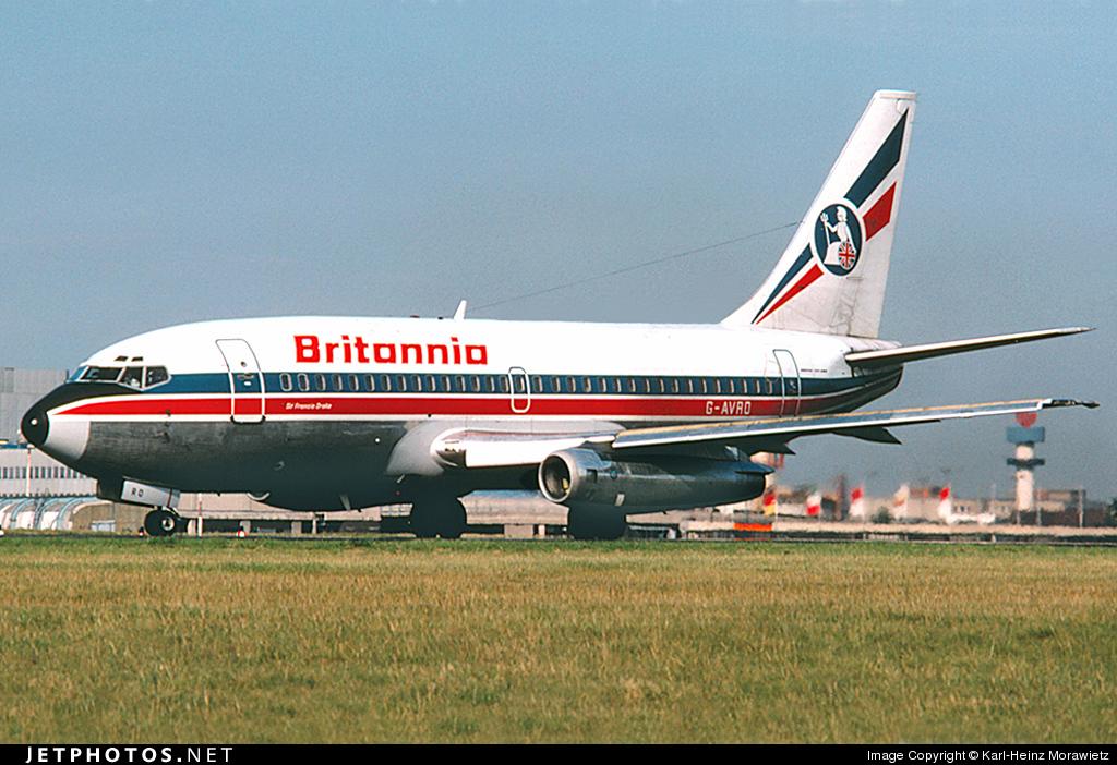 G-AVRO - Boeing 737-204 - Britannia Airways