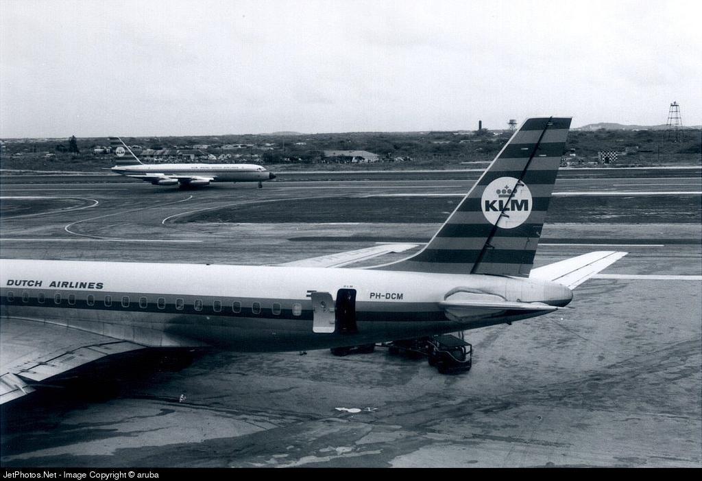 PH-DCM - Douglas DC-8-53 - KLM Royal Dutch Airlines