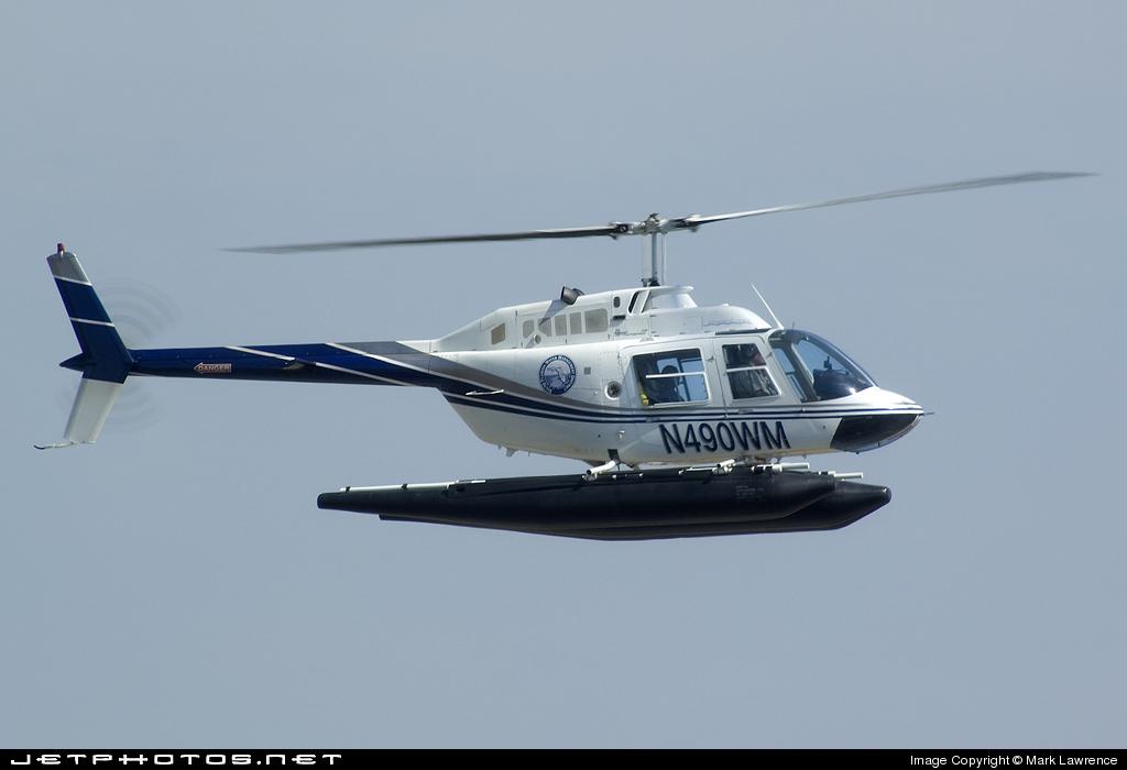 N490WM - Bell 206B JetRanger - South Florida Water Management