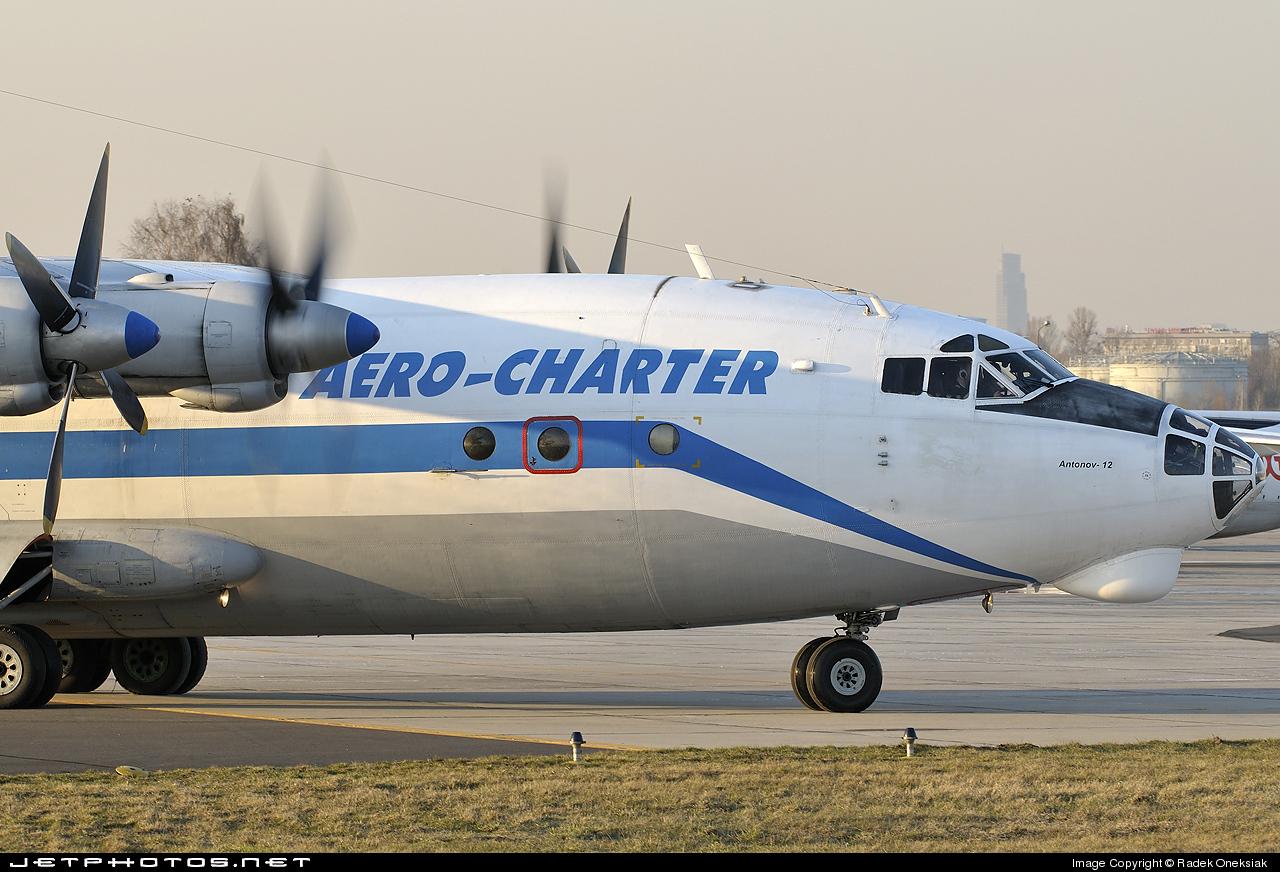 UR-DWF - Antonov An-12BK - Aero-Charter Ukraine