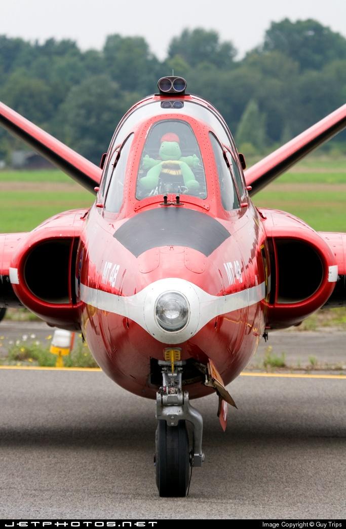 MT-48 - Fouga CM-170 Magister - Belgium - Air Force