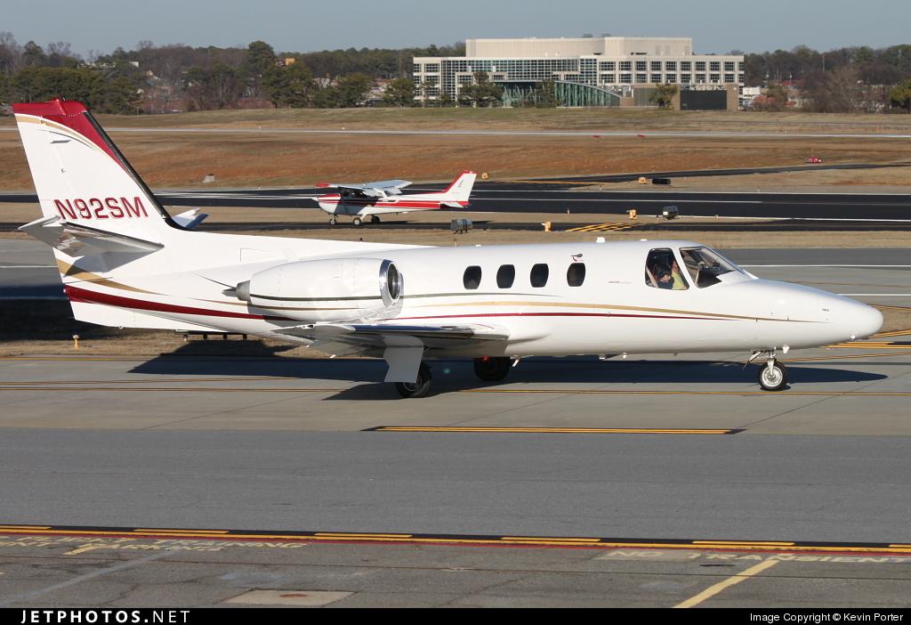 N92SM - Cessna 500 Citation - Private