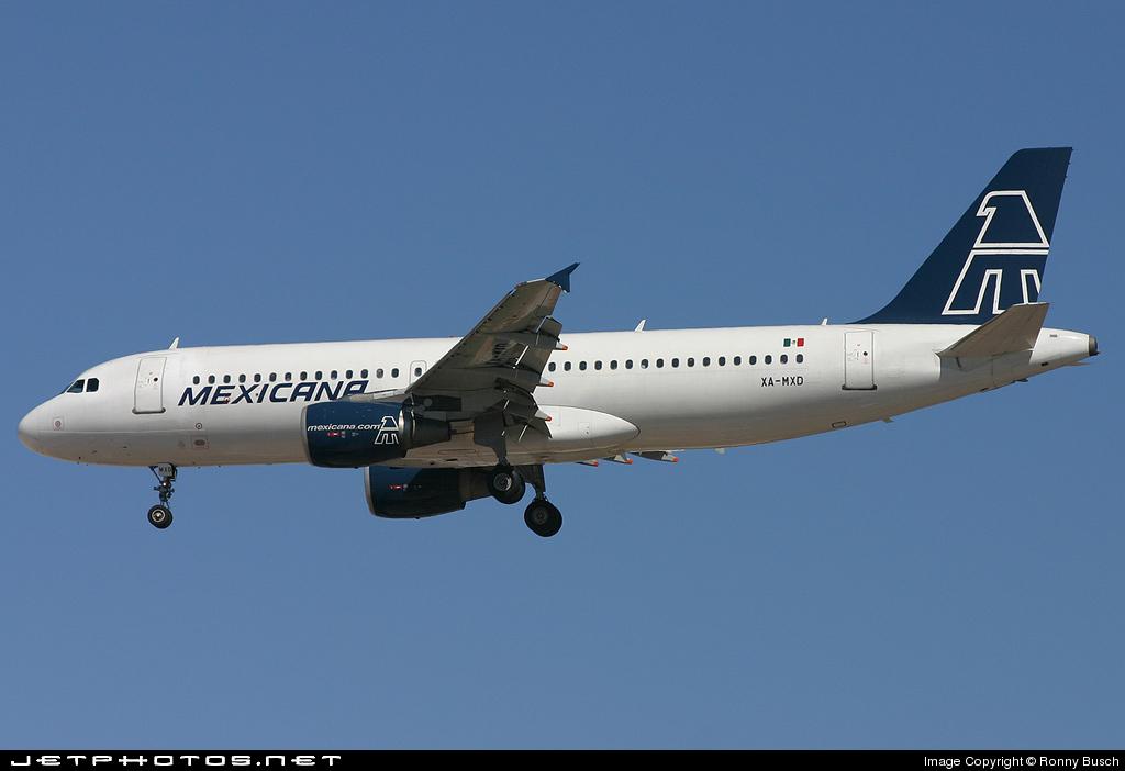 XA-MXD - Airbus A320-214 - Mexicana