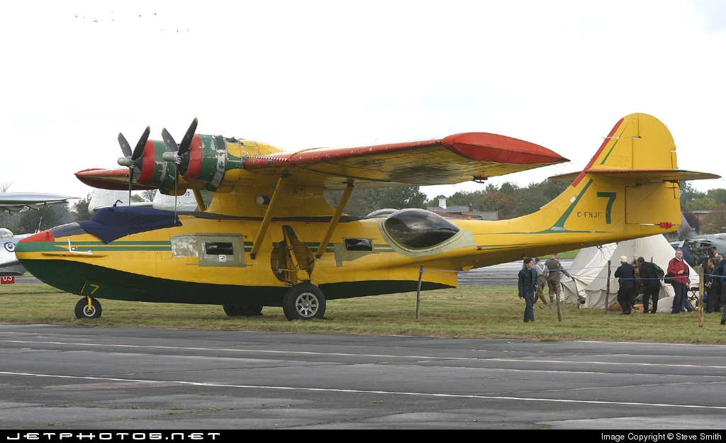 C Fnjf Canadian Vickers Pby 5a Canso Private Steve Smith
