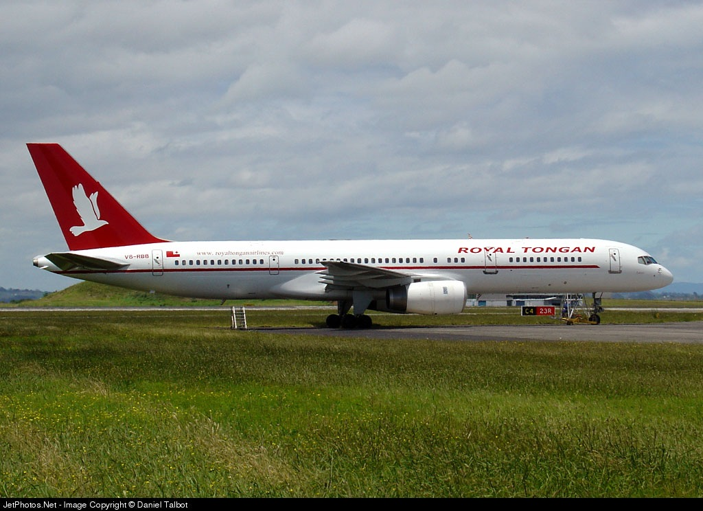V8-RBB - Boeing 757-2M6 - Royal Tongan Airlines