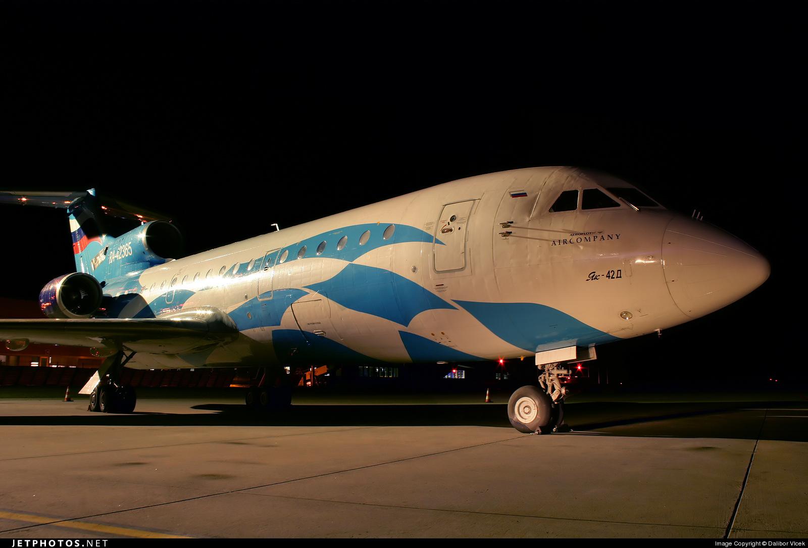 RA-42365 - Yakovlev Yak-42D - Aeroflot-Plus Airlines