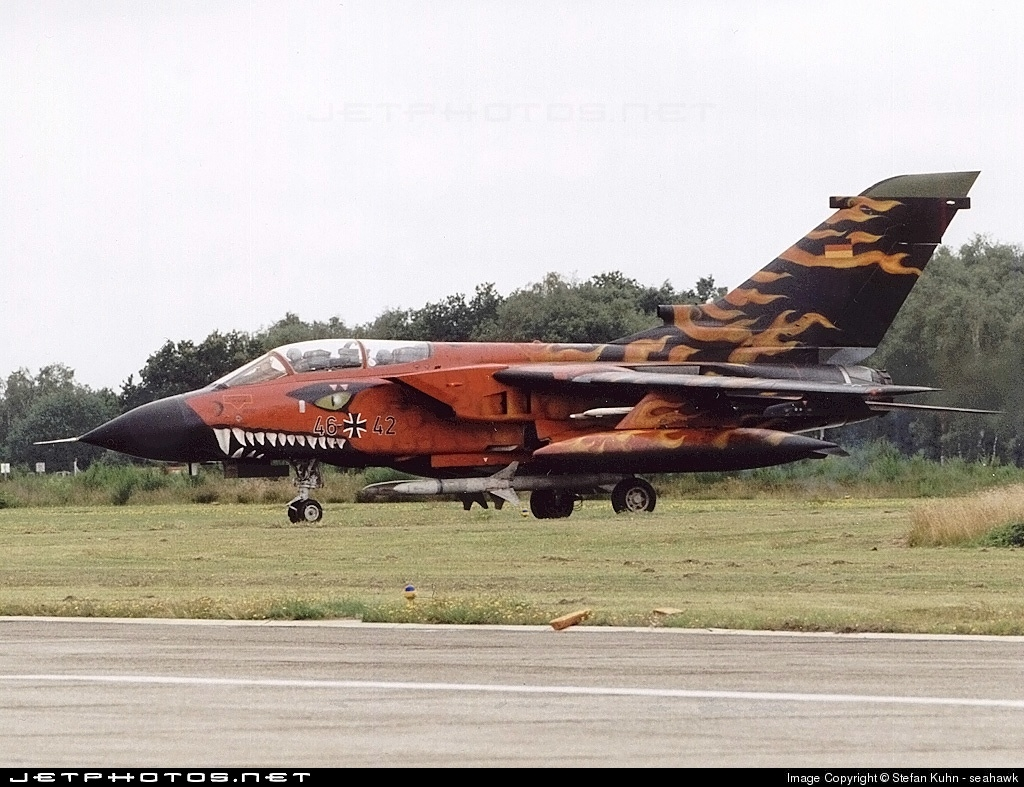 46-42 - Panavia Tornado ECR - Germany - Air Force