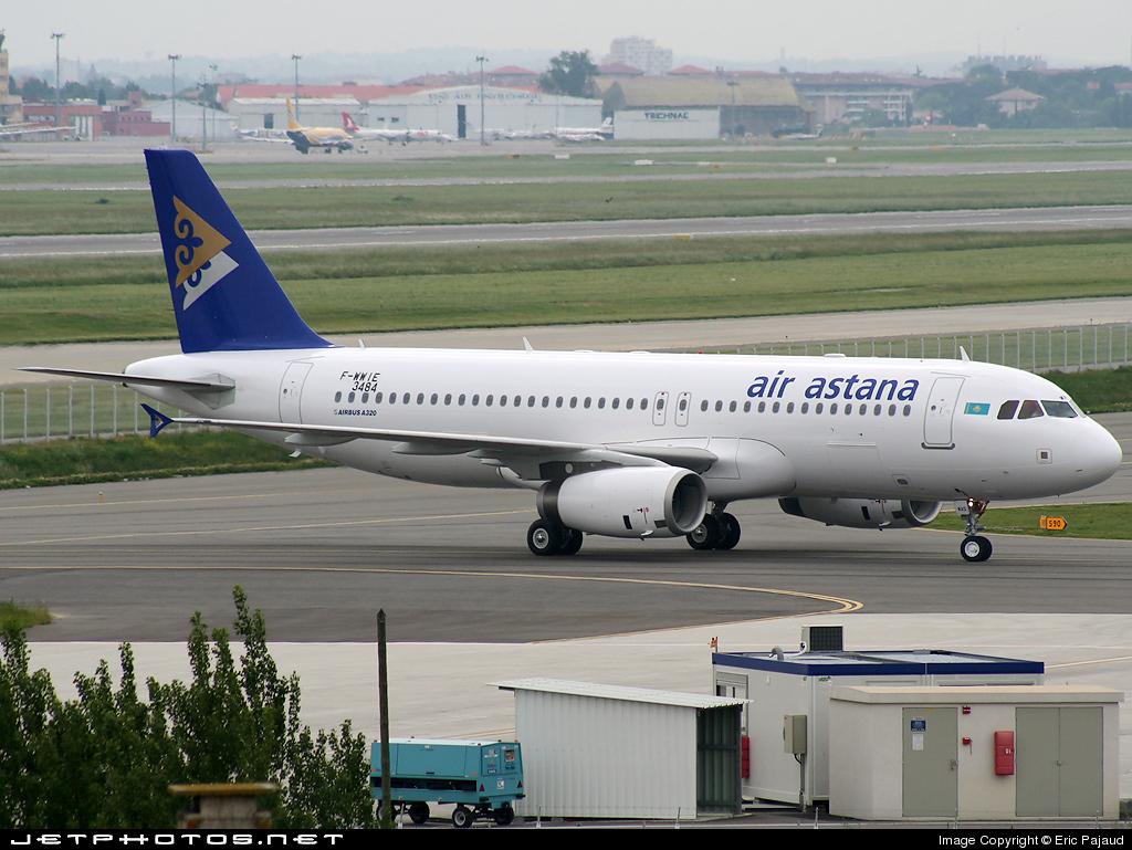 F-WWIE - Airbus A320-232 - Air Astana