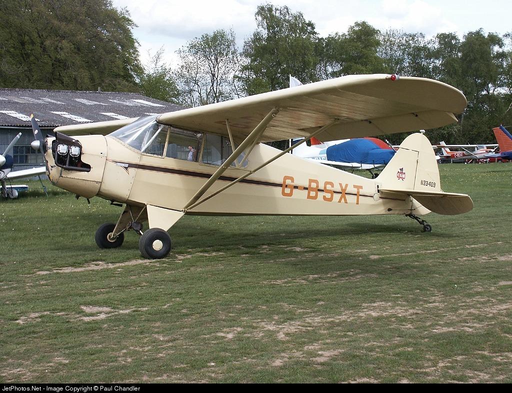 G-BSXT - Piper J-5A Cub Cruiser - Private