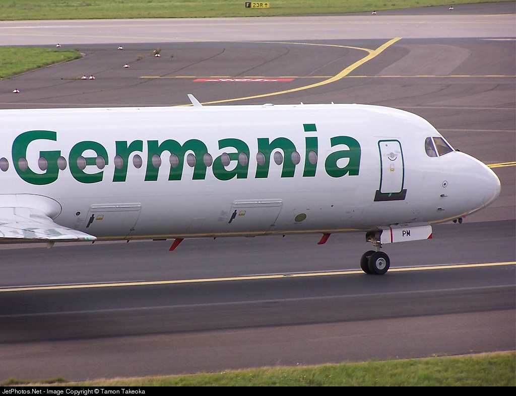 D-AGPM - Fokker 100 - Germania