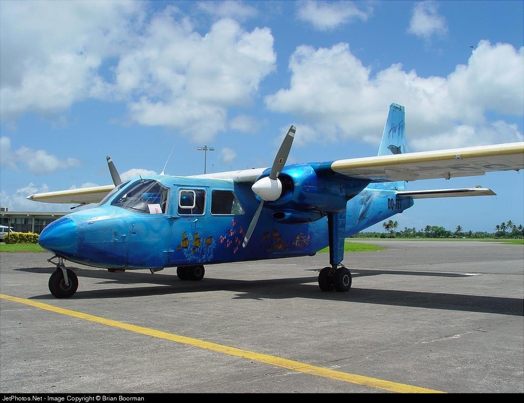 DQ-FET - Pilatus Britten-Norman Islander - Air Fiji