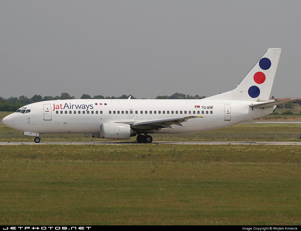 YU-ANF - Boeing 737-3H9 - Jat Airways