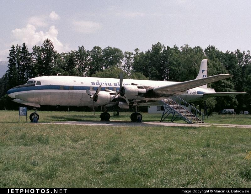 YU-AFF - Douglas DC-6B - Adria Airways