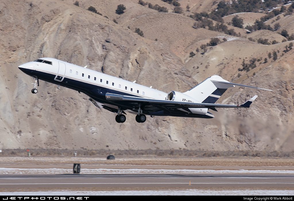 VP-BOW - Bombardier BD-700-1A10 Global Express - Private