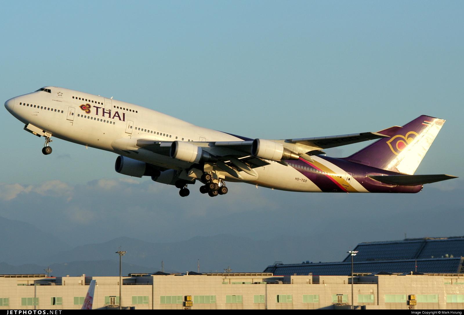 HS-TGO - Boeing 747-4D7 - Thai Airways International