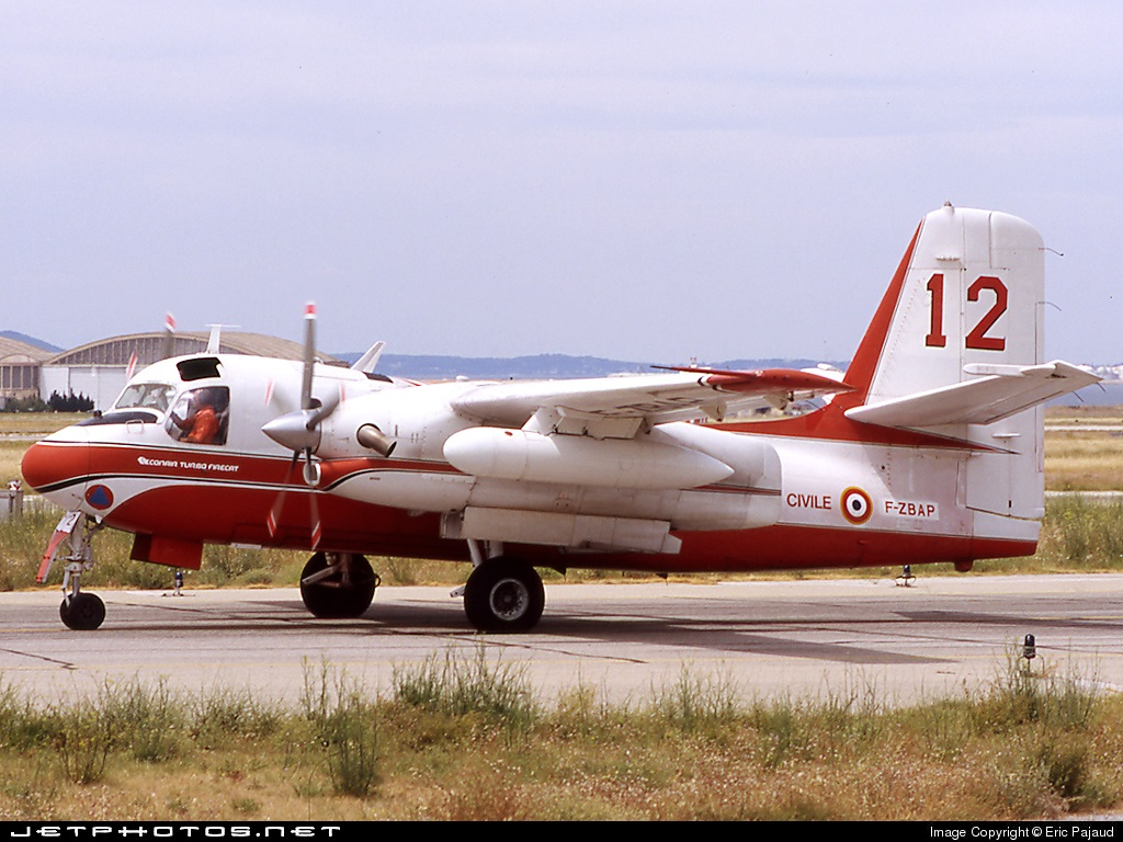 F-ZBAP - Conair S-2 Turbo Firecat - France - Sécurité Civile