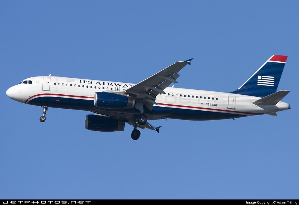 N648AW - Airbus A320-232 - US Airways