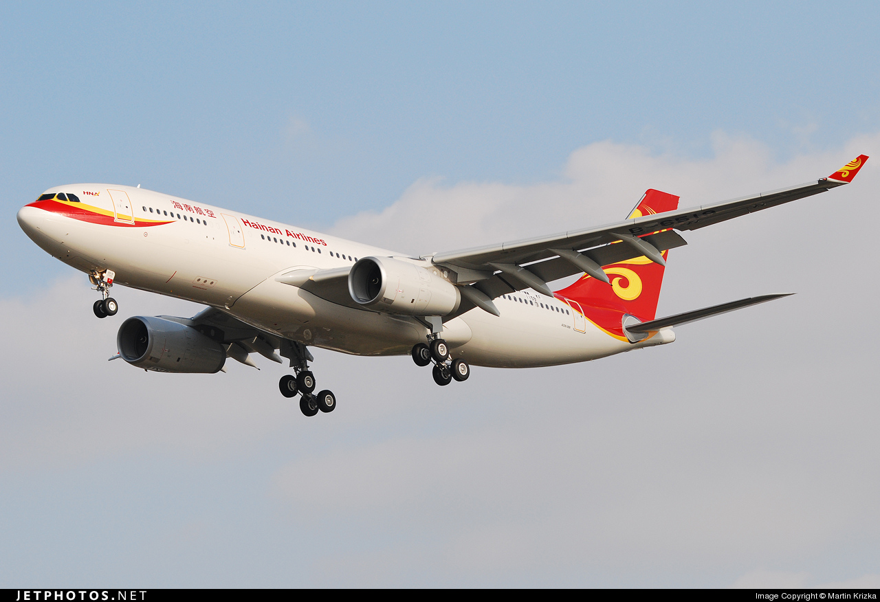 F-WWKF - Airbus A330-243 - Hainan Airlines
