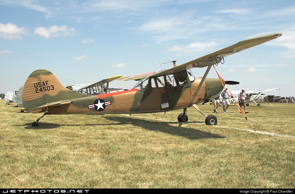 N29920 - Cessna L-19A Bird Dog - Private