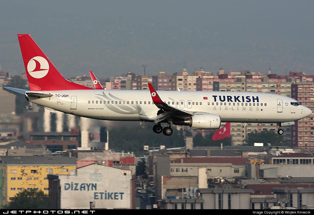 TC-JGH - Boeing 737-8F2 - Turkish Airlines