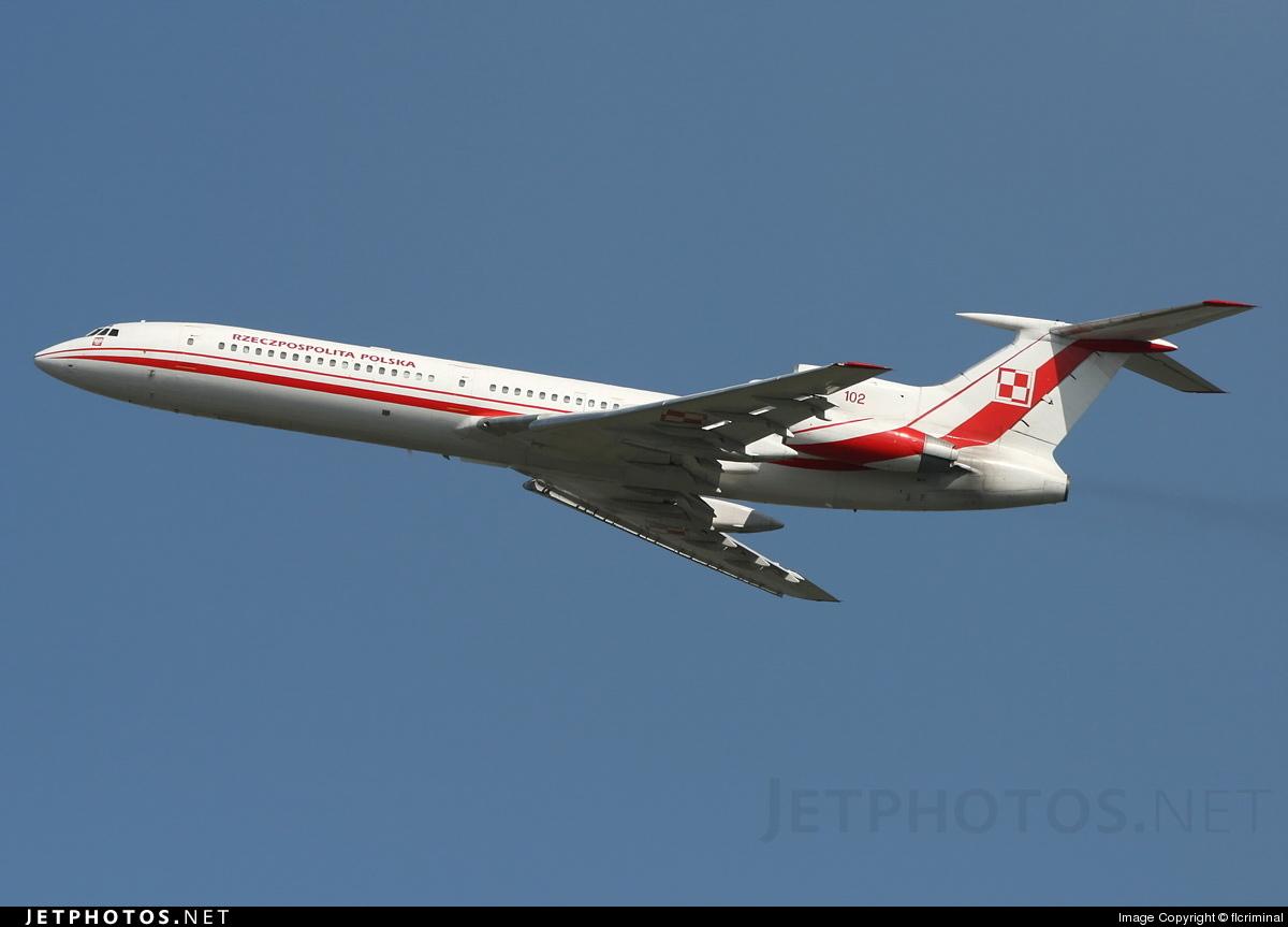 102 - Tupolev Tu-154M - Poland - Air Force