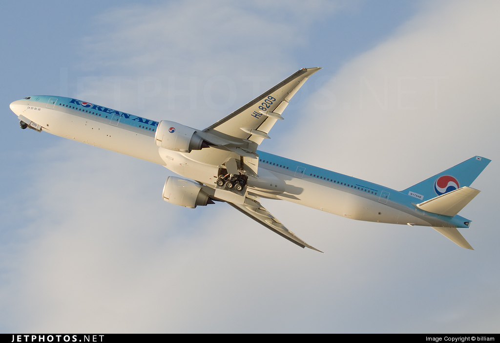 N1794B - Boeing 777-3B5ER - Korean Air